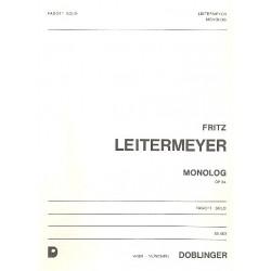 Leitermeyer, Fritz: Monolog op.64 : für Fagott