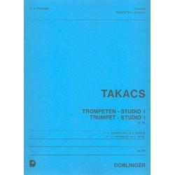 Takacs, Jenö: Trompeten-Studio 1 op.98 : für 2-3 Trompeten Partitur