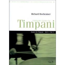 Hochrainer, Richard: Etüden Band 1 für Timpani