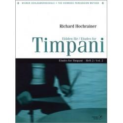 Hochrainer, Richard: Etüden für Timpani Band 2 für Pauken