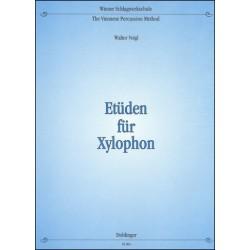 Veigl, Walter: Etüden für Xylophon