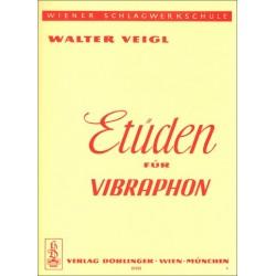 Veigl, Walter: Etüden für Vibraphon