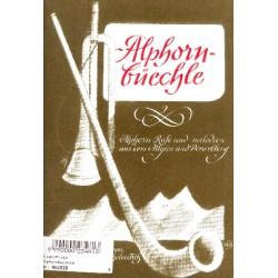 Alphornbüechle : für Alphorn (1-4 Instrumente), Spielpartitur