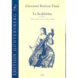 Vitali, Giovanni Battista: La Scalabrina aus op.5 für 5 Gamben und Bc