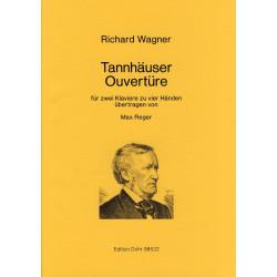 Wagner, Richard: Ouvertüre zu Tannhäuser : für 2 Klaviere zu 4 Händen