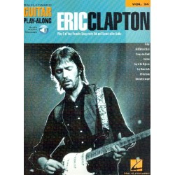 Eric Clapton (+audio access) songbook voice/guitar/tab guitar playalong vol.24