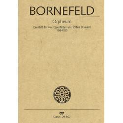Setzer, Markus: Orpheum Quintett für 4 Flöten und Zither (Klavier) Partitur