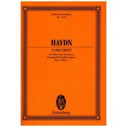 Haydn, Franz Joseph: Konzert D-Dur Hob.VIID:3 : für Horn und Orchester Studienpartitur