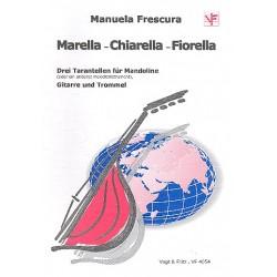 Frescura, Manuela: 3 Tarantellen : für Mandoline, Gitarre und Trommel Spielpartitur