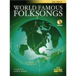 World famous Folksongs (+CD) : for trumpet