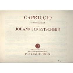 Sengstschmid, Johann: Capriccio für Orgelpedal
