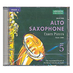Alto saxophone exam pieces grade 5 : CD Complete syllabus from 2006