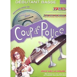 Roux, Denis: D├®butant basse vol.2 (+CD) Collection Coup de Pouce