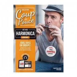 Roux, Denis: Débutant Harmonica (+audio online) Collection Coup de Pouce