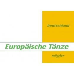 Europäische Tänze Band 11 : Deutschland