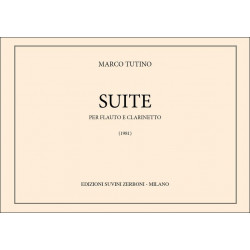 Tutino, Marco: Suite : per flauto e clarinetto, 2 partiture