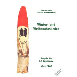 Winter- und Weihnachtslieder (+CD) : für 1-3 Euphonien