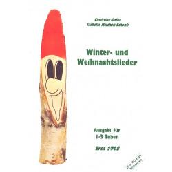 Winter- und Weihnachtslieder (+CD) : für 1-3 Tuben