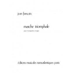 Frances, Robert: Marche triomphale : pour 4 trompettes et orgue