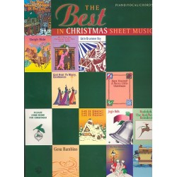The Best in Christmas Sheet Music : Songbook piano/voacl/guitar