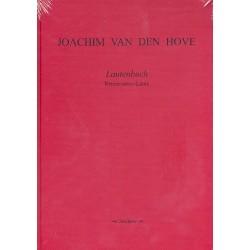 Hove, Joachim van den: Lautenbuch : für Renaissance- Laute (Faksimile)