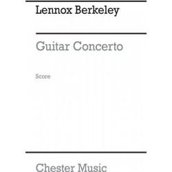 Berkeley, Lennox: Konzert für Gitarre und Orchester : Studienpartitur