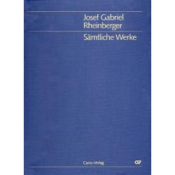 Rheinberger, Joseph Gabriel: Sämtliche Werke Band 18a/b : Chorballaden Band 3a/b für gem Chor und Orchester