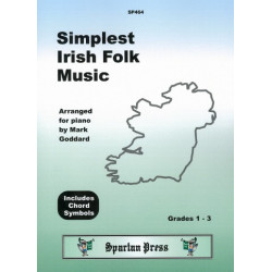 Simplest Irish Folk Music: for piano