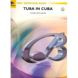 López, Victor: Tuba in Cuba (+CD): für Blasorchester Partitur und Stimmen