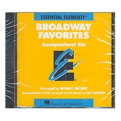 Broadway Favorites : CD Accompaniment Disc