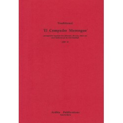 El Comprade Merengue : for 4 saxophone (SATB) or 4 clarinets, score and parts