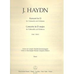 Haydn, Franz Joseph: Konzert D-Dur Hob.VIIb:2 : für Violoncello und Orchester Kontrabaß
