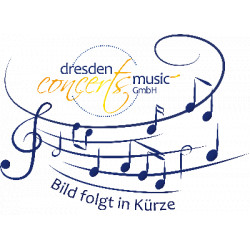 Telemann, Georg Philipp: Largo und Presto aus der Suite a-Moll : f├╝r 5-6 Klarinetten Partitur und Stimmen