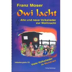 Owi lacht (+CD) : Liederbuch 1-3stimmig mit Akkordeon
