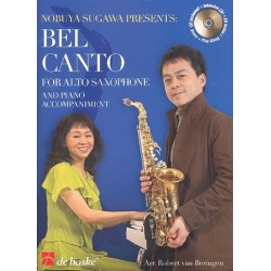 Bel canto (+CD) : for alto saxophone and piano