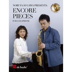 Encore Pieces (+CD) : for alto saxophone and piano