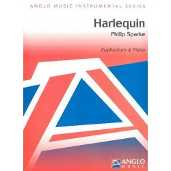 Sparke, Philip: Harlequin : for euphonium and piano