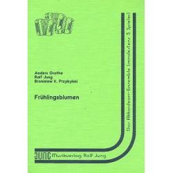 Grothe, Anders: Fr├╝hlingsblumen : f├╝r Akkordeon-Trio Partitur und Stimmen