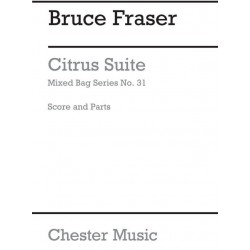 Fraser, Bruce: Citrus Suite : for 3-5 woodwinds score and parts archive copy
