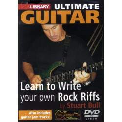 Bull, Stuart: Learn to write your own Rock Riffs : DVD-Video Lick Library Ultimate Guitar