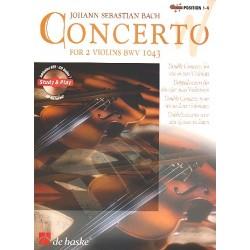 Bach, Johann Sebastian: Konzert d-Moll BWV1043 : für 2 Violinen und Orchester (+CD) Ausgabe für 2 Violinen und Klavier