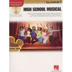 High School Musical (+CD) : for clarinet