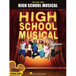 High School Musical vol.1 : songbook piano/vocal/guitar