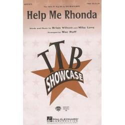 Wilson, Brian: Help Me Rhonda for male chorus (TTBB) and piano score