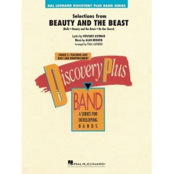 Menken, Alan: Beauty and the Beast (Selections) : for Concert Band score