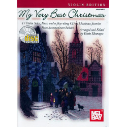 My very best Christmas (+CD) 17 Christmas Favorites for 1-2 violins and piano