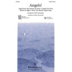 Angels for mixed chorus (SATB)
