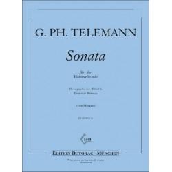 Telemann, Georg Philipp: Sonate D-Dur f├╝r Viola da gamba : f├╝r Violoncello