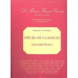 Couperin, Francois (le grand) *1668: Pièces de clavecin vol.2 : Faksimile