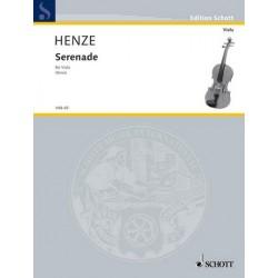 Henze, Hans Werner: Serenade : für Viola